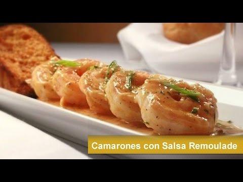 Cocina Francesa Recetas | Camarones Con Salsa Remoulade Cocina Francesa Receta Facil