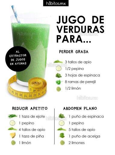 Factor Quema Grasa - Jugo de verduras para perder grasa