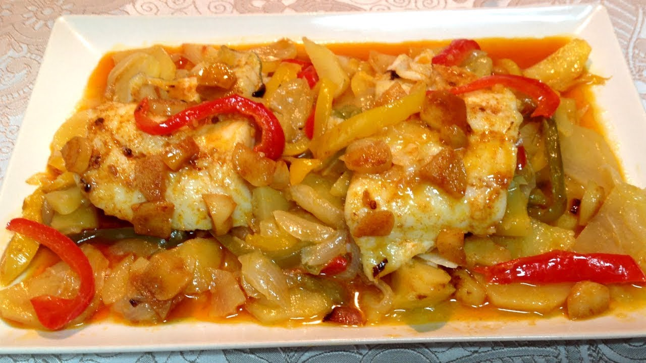 Bacalao Al Horno Recetas De Cocina Recetas