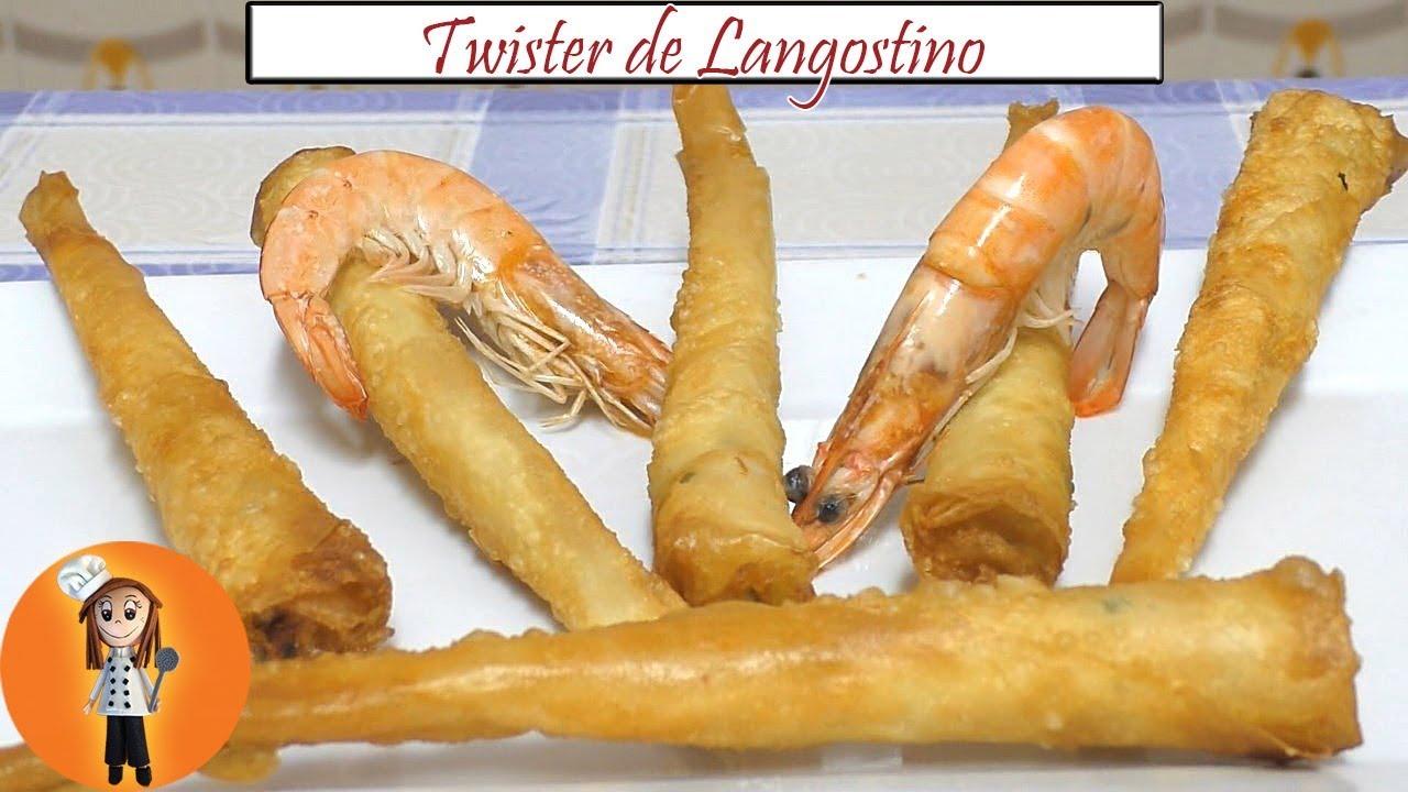 Twister de Langostino